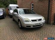 2002 VAUXHALL VECTRA LS 2.2 16V SILVER for Sale