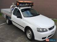 """2006 Ford Falcon BF """"LPG"""" with REMOTE CRANE Automatic 4sp A Cab Chassis for Sale"""