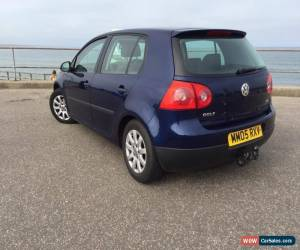 Classic 2005 VOLKSWAGEN GOLF 1,9 TDI SE BLUE for Sale