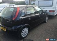 2004 VAUXHALL CORSA ACTIVE 16V BLACK for Sale