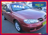 2001 Nissan Pulsar N16 Q Red Automatic 4sp A Hatchback for Sale