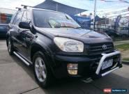 2002 Toyota RAV4 ACA21R Cruiser (4x4) Black Automatic 4sp A Wagon for Sale