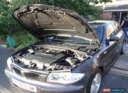 BMW 1 series 118 d sport  4 door 6 gears full leather. for Sale