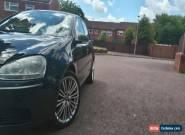 VW VOLKSWAGEN GOLF SPORT MK5 FSI S1.6 BLACK 2006 . for Sale