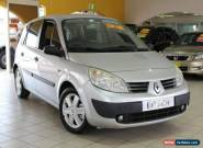 2005 Renault Scenic Phase II J84 Expression Silver Manual 6sp M Hatchback for Sale