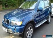 2002 BMW X5 D AUTO BLUE for Sale