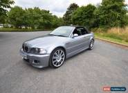 BMW M3 3.2 2dr Convertible 2004 (E46) SMG  for Sale