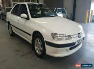 1998 Peugeot 406 D8 STDT White Manual 5sp M Sedan for Sale