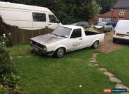 Volkswagen Caddy MK1 1.9 TDI aaz .... pickup vw show truck rat modified lowered  for Sale