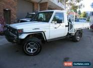 2002 Toyota Landcruiser HZJ79R (4x4) White Manual 5sp M Cab Chassis for Sale