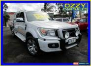 2010 Ford Ranger PK Wildtrak (4x4) Silver Manual 5sp M Dual Cab Pick-up for Sale