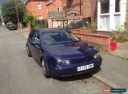 volkswagen golf GTI 1.8 20v 1999 mk4 for Sale