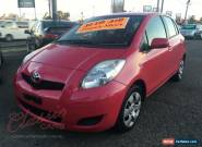 2011 Toyota Yaris NCP90R 10 Upgrade YR Pink Manual 5sp M Hatchback for Sale
