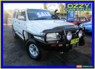 2004 Toyota Hilux KZN165R (4x4) White Manual 5sp M Cab Chassis for Sale
