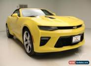 2016 Chevrolet Camaro SS Convertible RWD for Sale