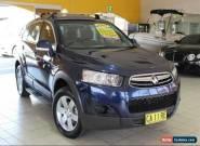 2012 Holden Captiva CG Series II MY12 7 SX Dark Blue Automatic A Wagon for Sale