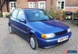 Classic volkswagen polo 1.4 5 door long mot blue for Sale