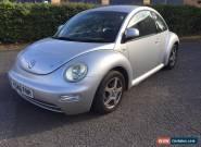 VW Beetle 1.6 16v 2001/Y reg, Silver for Sale