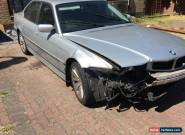 BMW 735 I SALVAGE SPARES OR REPAIR for Sale