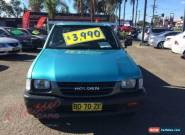 1998 Holden Rodeo TFR9 DX Turquoise Manual 5sp M Cab Chassis for Sale