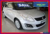 Classic 2015 Suzuki Swift FZ MY14 GL Navigator Silver Automatic 4sp A Hatchback for Sale