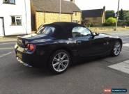 BMW Z4 Roadster 2.0 SE Black Sports Car  for Sale
