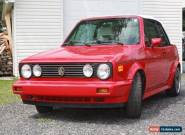 Volkswagen: Cabrio Flec Clear on Red for Sale