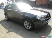 58 REG BMW X3 2.0D SE AUTO F/S/H A/C FACELIFT MODEL FULL MOT PARK ASSIST  for Sale