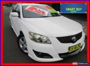 2007 Toyota Aurion GSV40R Sportivo SX6 White Automatic 6sp A Sedan for Sale