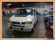 1996 Volkswagen Transporter T4 White Manual 5sp M Dual Cab Chassis for Sale