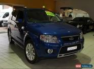 2010 Ford Territory SY Mkii Ghia Blue Automatic 4sp A Wagon for Sale