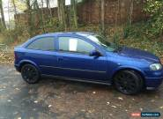 2004 VAUXHALL ASTRA SXI 16V BLUE for Sale