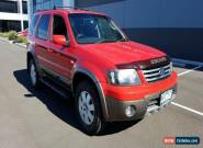 2007 Ford Escape ZC XLT Sport V6 Red Automatic 4sp A Wagon for Sale