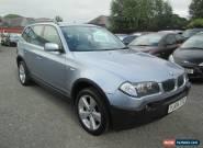 2004 BMW X3 SPORT 3.0 AUTO BLUE for Sale