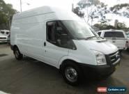 2010 Ford Transit VM HIGH LWB White Manual 6sp M Van for Sale