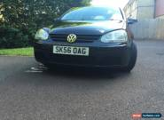 2006 (56) VOLKSWAGEN GOLF TDI SE BLACK for Sale