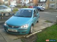 2004 VAUXHALL CORSA 1.2 LIFE 16V SILVER for Sale
