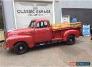 1951 Chevrolet Other Pickups 2 Dr. Pickup for Sale
