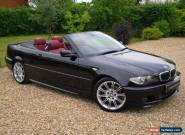 2005/54 BMW 330ci Sport Convertible / Huge Spec for Sale