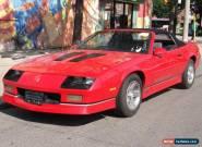 Chevrolet: Camaro Z28 IROC-Z for Sale