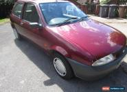 1998 FORD FIESTA FINESSE RED 1.3 PETROL for Sale