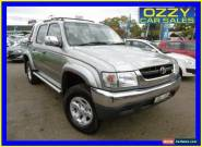 2004 Toyota Hilux VZN167R SR5 (4x4) Silver Automatic 4sp A Dual Cab Pick-up for Sale