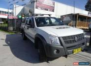 2008 Holden Rodeo RA MY08 LX (4x4) White Automatic 4sp A Crewcab for Sale