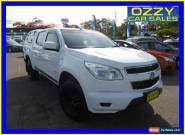 2013 Holden Colorado RG LX (4x4) White Automatic 6sp A Crewcab for Sale