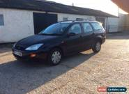 2001 FORD FOCUS CL TD DI BLACK 10 MONTHS MOT GOOD SERVICE HISTORY for Sale