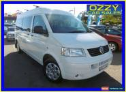 2008 Volkswagen Transporter T5 MY08 (LWB) White Automatic 6sp A Van for Sale