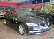 2011 BMW 320D E92 MY11 Sapphire Black Automatic 6sp A Coupe for Sale