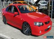 2002 Ford Falcon BA XR6T Vixen Automatic 4sp A Sedan for Sale