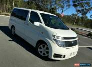 2002 Nissan Elgrand E51 Highway Star White Automatic 5sp A Wagon for Sale