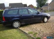 2001 FORD FOCUS LX AUTO BLUE 11 MONTHS MOT TOW BAR for Sale